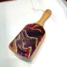 Load image into Gallery viewer, DETANGLING SPA HAIRBRUSH WITH RESIN ART - VARIOUS COLORS