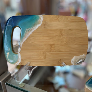 BEACH RESIN ART BAMBOO BOARD