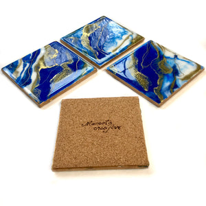 Royal coaster set of 4 - Mamota Creative