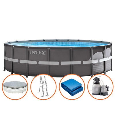 "Piscina 14'x42"" Intex 26309EH Ultra Frame Circular - INT-26309EH"