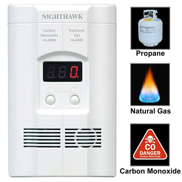 Alarma Digital Contra Incendios Kidde COEG-3 Nighthawk - KID-COEG-3