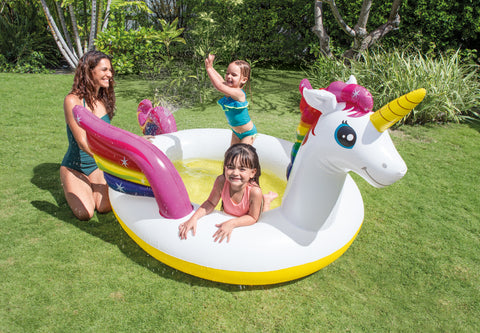"Piscina Intex 57441NP Unicornio Con Spray Inflable 272""x193""x104"" - INT-57441NP"