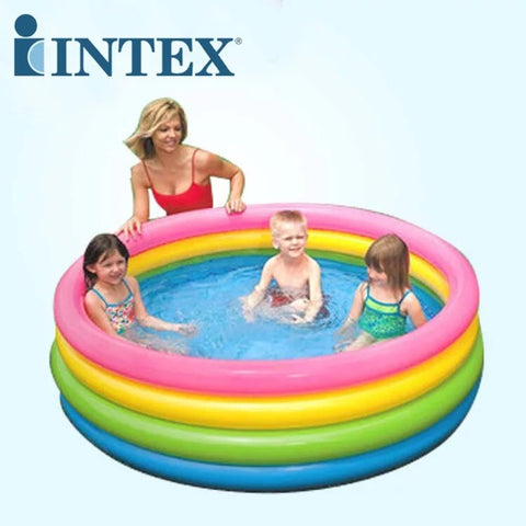 "Piscina Intex 56441 Sunset Glow Circular Inflable 66""x18""- INT-56441"