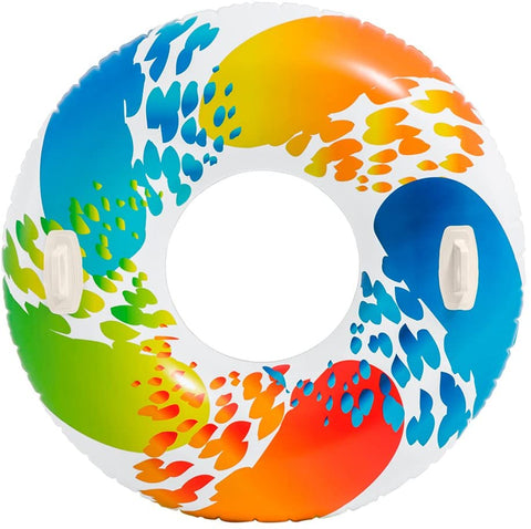 "Flotador Color Whirl Intex 58202EU Rueda Inflable 122"" - INT-58202EU"