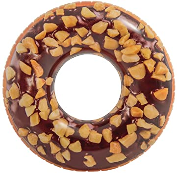 "Flotador Donut Chocolate Intex 56262NP Rueda Inflable 99""x25"" - INT-56262NP"