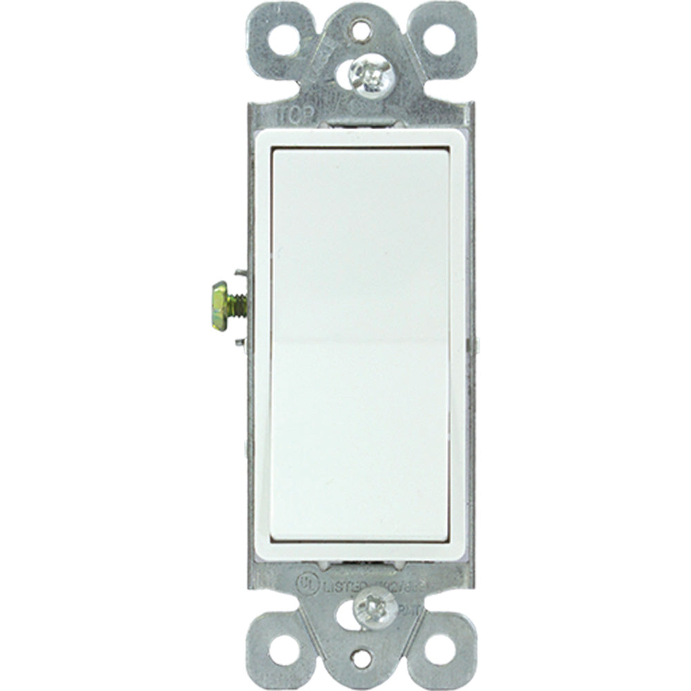Interruptor de 4 Vías Eagle 6504W Decor Blanco - EAG-6504W