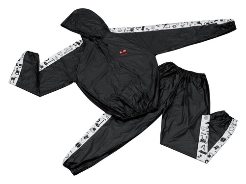 Sudadera BJ012 XXXL Body Sculpture Sauna Suit Negro - SOL-BJ-012XXXL-BS
