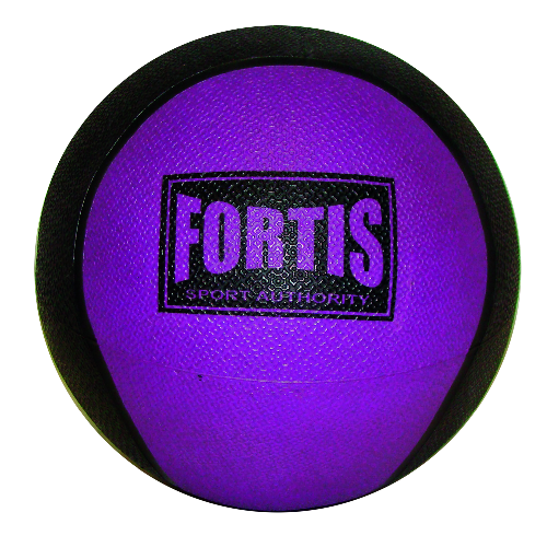 Bola Medicinal 2LBS Fortis MB6300 (Swiss Ball) Púrpura - FOR-MB6300-2.0