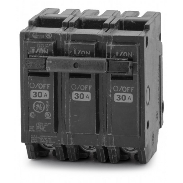 Breaker 30A 3 Polos General Electric - GE-THQL32030
