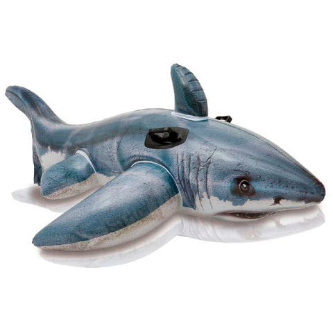 "Flotador Great White Shark Intex 57525 Inflable 173""x107"" - INT-57525"