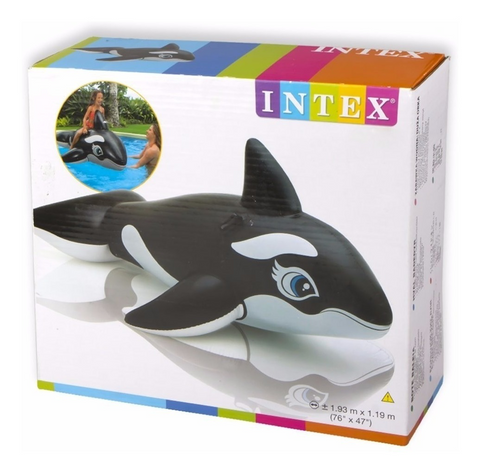 "Flotador Ballena Intex 58561 Inflable 193""x119"" - INT-58561"