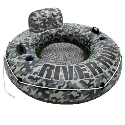 "Flotador River Run I Intex 58835 Camuflaje Rueda Inflable 135"" - INT-58835"