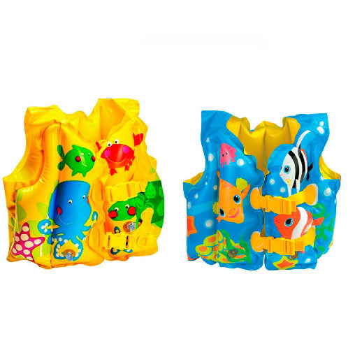 "Chaleco Intex 59661 Con Diseños Inflable 41""x30"" - INT-59661"