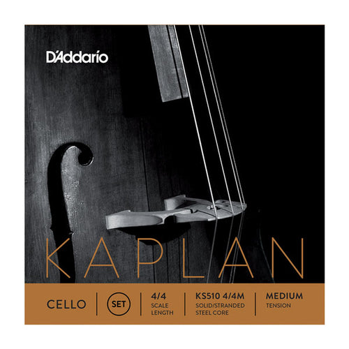 Cuerdas Daddario KS510-4/4M Kaplan Para Cello - DAD-KS510-4/4M