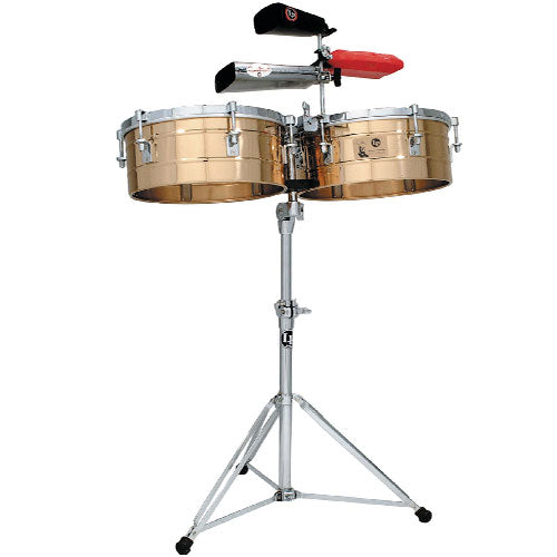 "Timbales Tito Puente LP257B 14""x15"" Latin Percussion Bronce -  LAT-LP257B"
