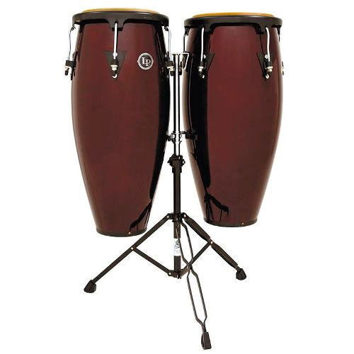 Set Congas City Series LP647NY-DW Latin Percussion Madera Oscura - LAT-LP647NY-DW