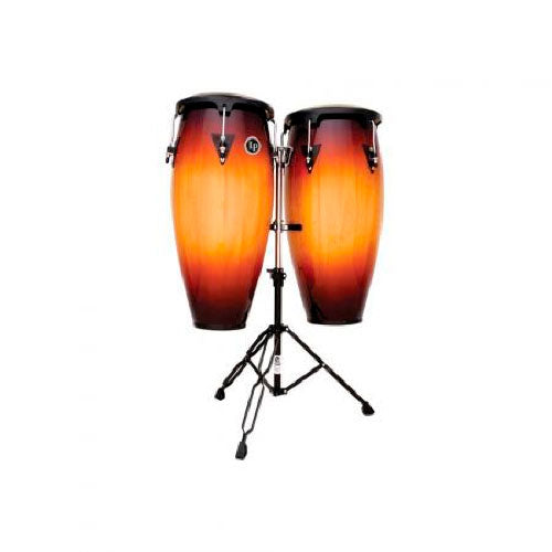 Set Congas City Series LP647NY-VSB Latin Percussion Madera Sombreada - LAT-LP647NY-VSB
