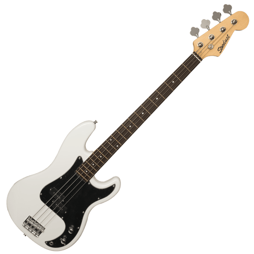 Bajo Eléctrico P Bass Stardust Black and White - STD-PB-VWH