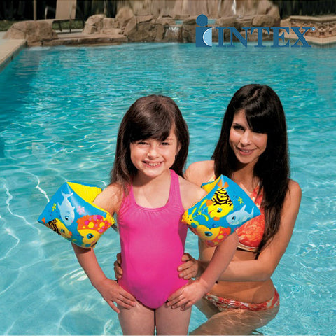 Flotador Para Brazos Intex 58652 Fun Fish Arm Bands Inflable - INT-58652