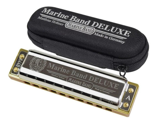 Armónica Hohner Deluxe G Marine Band - HOH-M-B/DELUXE-G