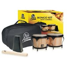 Kit Bongo Aspire LPA500AW Latin Percussion Madera Natural - LAT-LPA500AW