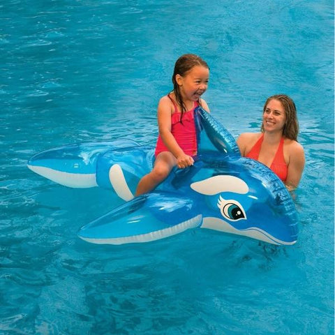"Flotador Lil Whale Ride-On Intex 58523 Inflable 152""x114""- INT-58523"