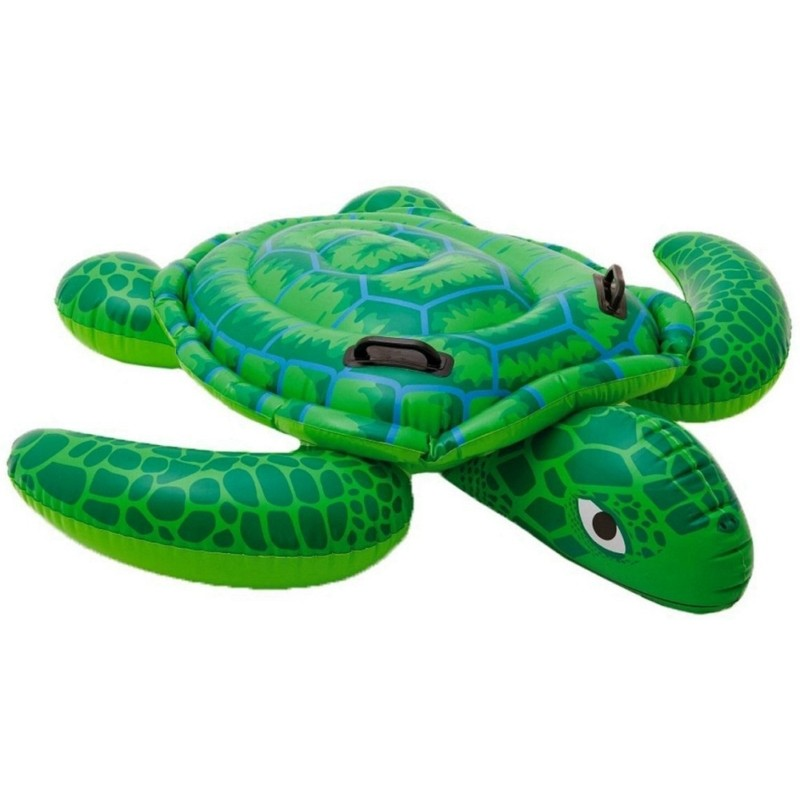 "Flotador Tortuga Ride-On Intex 57524NP Colchoneta Inflable 150""x127"" - INT-57524NP"