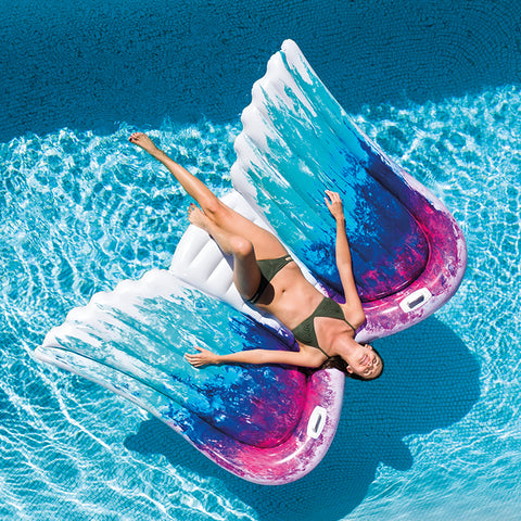 "Flotador Alas de Angel Intex 58786 Colchoneta Inflable 216""x155""x20"" - INT-58786"