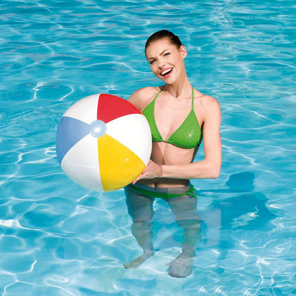 "Bola de Playa Intex 59020 de 20 Paneles Inflable 51"" - INT-59020"