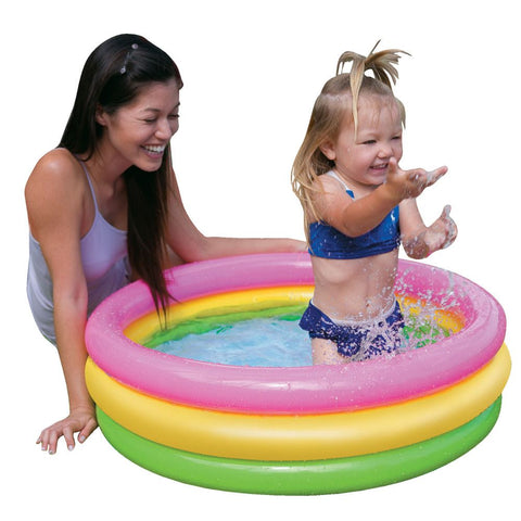 "Piscina Intex 58924 Sunset Glow Circular Inflable 86""x25"" - INT-58924"