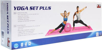 Set de Yoga Plus BB636 Rosada - SOL-BB636