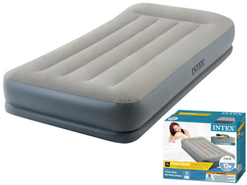 Colchón Twin Intex 64115E Inflable Dura Beam Pillow Rest - INT-64115E
