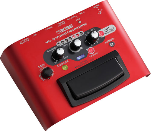 Pedal VE-2 Roland Armonizador Vocal Para Guitarra - ROL-VE-2