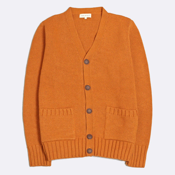 Far Afield - Buckley Cardigan - Orange