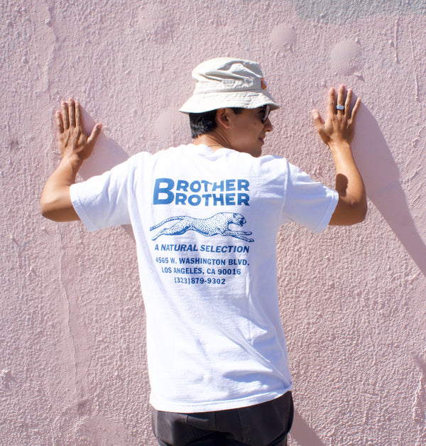 Brother Brother Shop Tee- White