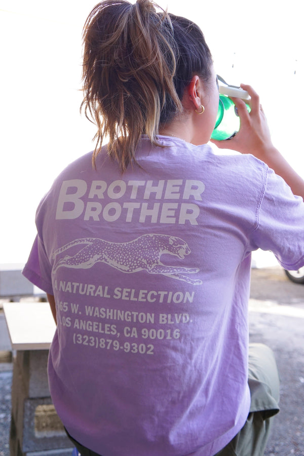 Brother Brother- Shop Tee- 'Tussin Purple