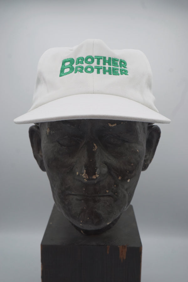 Brother Brother- Stack Cap- White/Green