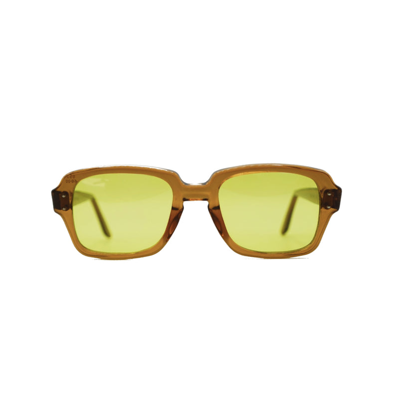 Vintage BCG Shades by Brother Brother- Hunter Yellow