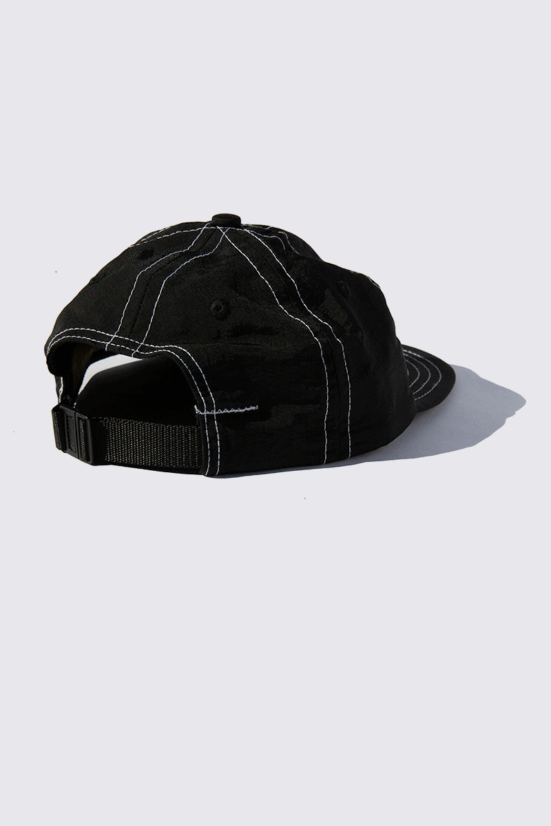 Lite Year - Six Panel Nylon Cap - Black