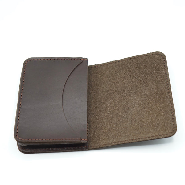 Heritage Leather Co.- Multi Pocket Wallet- Brown