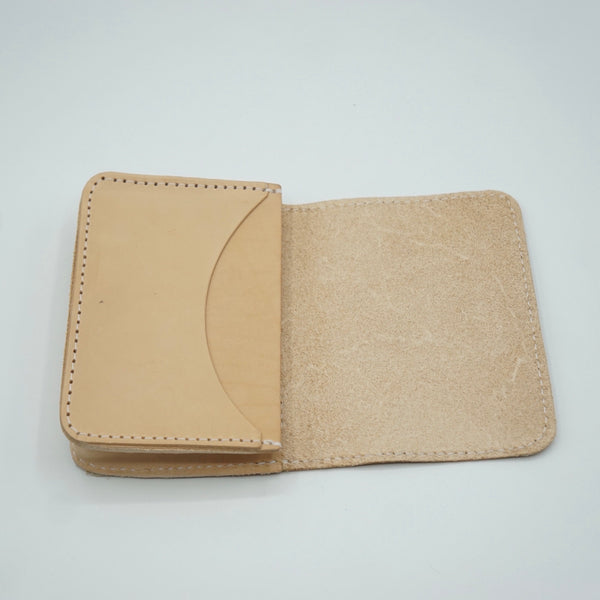 Heritage Leather Co.- Multi Pocket Wallet- Natural