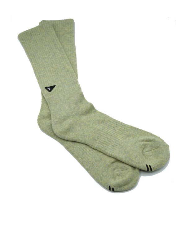 Arvin Goods- Plant Dyed Sock - Green