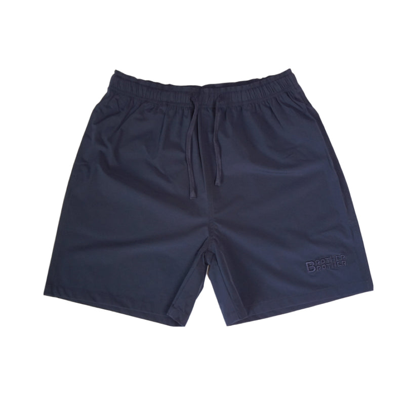 "Brother Brother- Roomy Short 5""- Navy"