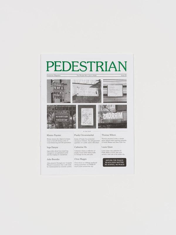 Pedestrian Magazine - Issue 5