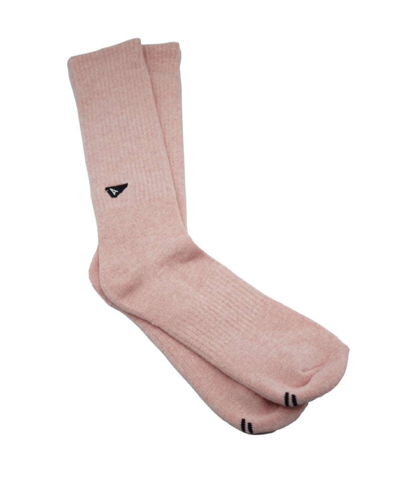 Arvin Goods- Plant Dyed Sock- Pink