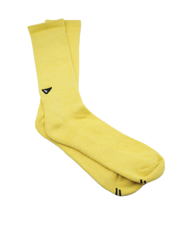 Arvin Goods- Plant Dyed Sock- Yellow