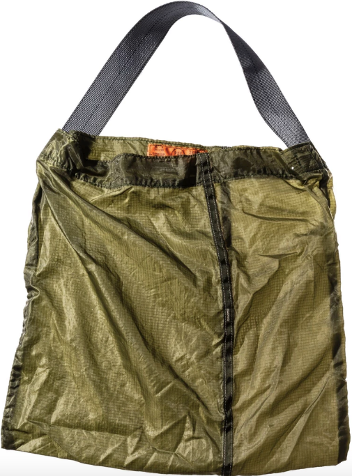 Puebco Japan Upcycled Parachute Bag- Olive