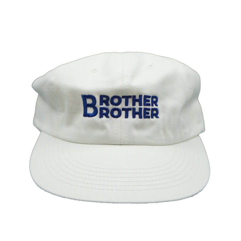 Brother Brother- Stack Cap- White/Navy