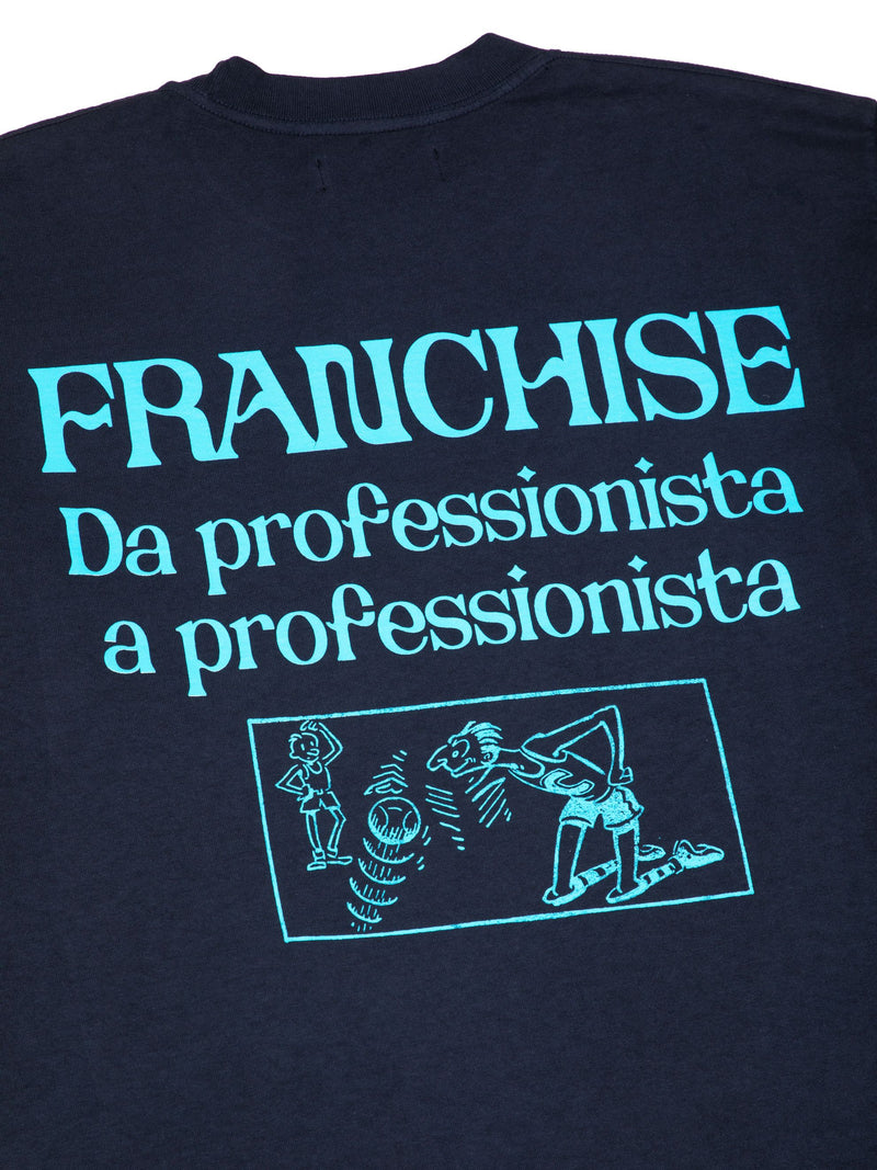 Franchise -  Keep it PROFESSIONAL L/S Tee - Washed Black