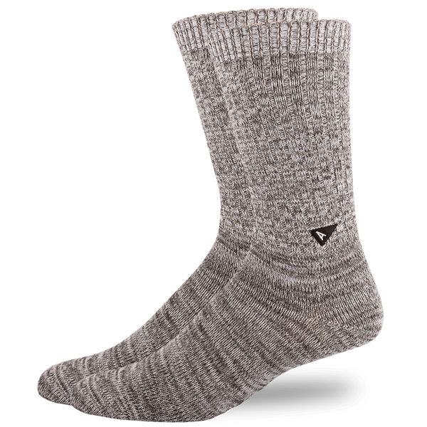 Arvin Goods - Casual Sock Twisted Cotton - Grey Mix